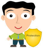 Business protection Stock Images
