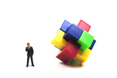 Business puzzle Royalty Free Stock Images