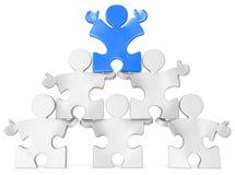 Business Pyramid. Royalty Free Stock Photo