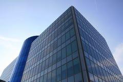 Business quarter buildings Royalty Free Stock Photos
