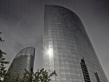 The business quarter of La defense in Paris Royalty Free Stock Images