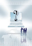 Business question  Royalty Free Stock Photography