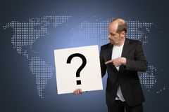 Business Question stock photo