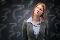 Business Questions and Problems Stock Photo
