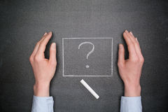 Business Questions - Unknown Royalty Free Stock Photography