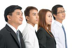 Business queue Stock Photos