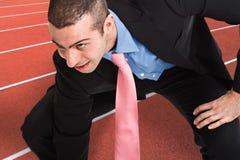 Business race Stock Photos