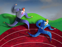 Business Race royalty free illustration