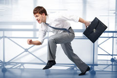 Business races Stock Image