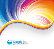 Business Rainbow Background Stock Image