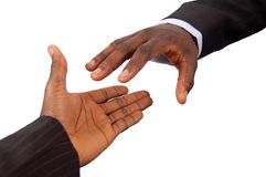 Business-Reaching Out Stock Photography