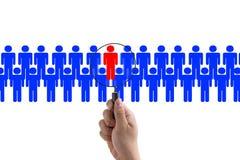 Business recruitment Stock Photos