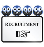 Business recruitment Royalty Free Stock Photo