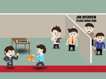 Business recruitment corruption Stock Images