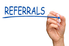 Business referrals Royalty Free Stock Photos