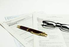 Business registration Stock Images