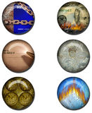 Business related Web Buttons Stock Photography