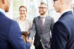 Business relationship Royalty Free Stock Photos