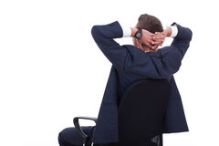 Business relax of the businessman Stock Photo