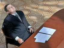 Business a relaxation royalty free stock photo