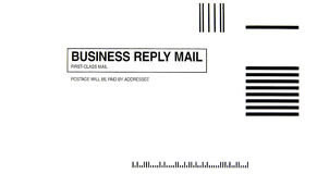 Business Reply Envelope Royalty Free Stock Image