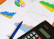 Business report Stock Photos