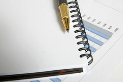 Business Report Stock Photography