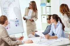 Business report Royalty Free Stock Photo