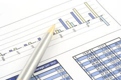 Business Report Royalty Free Stock Photos