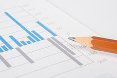 Business report analyze Stock Photo