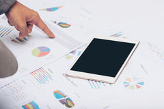 Business report royalty free stock image