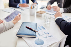 Business report Royalty Free Stock Photography