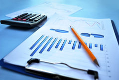 Business report Stock Images