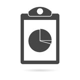 Business Report icon Royalty Free Stock Photography