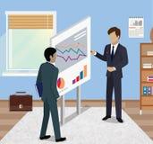 Business Report Isometric Stock Photo