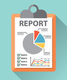 Business report paper Stock Photo