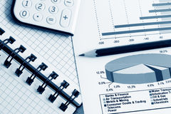 Business reports. Royalty Free Stock Images