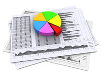 Business reports Stock Photo