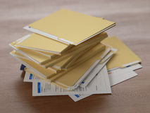 Business reports Royalty Free Stock Photo