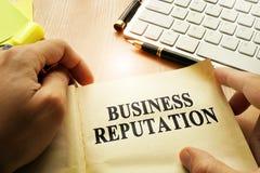 Business Reputation. royalty free stock photo