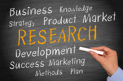 Business research concept Royalty Free Stock Photos