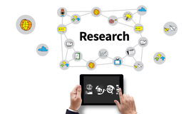 Business Research Data Economy Royalty Free Stock Image