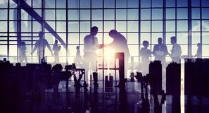 Business Respect Handshake Helping Hand Giving Corporate Concept Royalty Free Stock Image