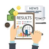 Business results concept. Stock Image