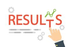 Business results concept. Stock Photo