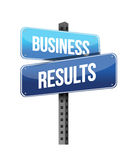 Business results sign Stock Photo