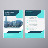 Business Review Brochure Royalty Free Stock Photos