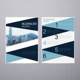 Business Review Brochure Stock Photography