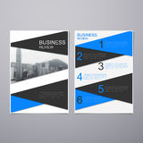 Business Review Brochure Royalty Free Stock Images