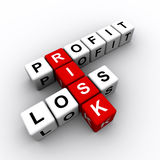 Business Risk Royalty Free Stock Photography